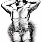 "The ""Heidelberg Alternating Current Electrical Belt"" was the balm for ""nervous diseases of all kinds in men and women."" (www.MuseumofQuackery.com)"