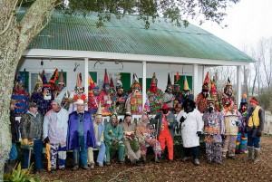 For years, David Simpson, who retired as a faculty member at Louisiana State University at Eunice in 2009, has been capturing images of Cajun and zydeco musicians and Acadian culture, including this delightful shot of Mardi Gras revelers in Lejeune, a tiny West Baton Rouge Parish community. (David Simpson)