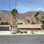 This is a modernist Palm Springs home, not a fire station!  (Carol M. Highsmith)