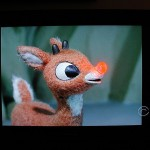 Here's the talking, animated version of the red-nosed little deer.  (Wootam!, Flickr Creative Commons)