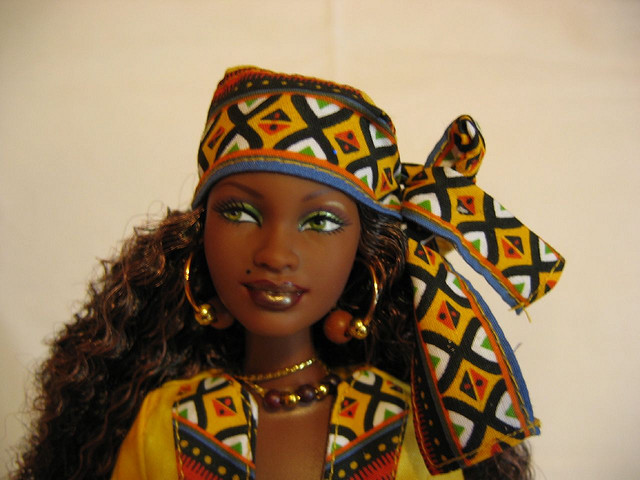 Even some Barbie dolls are decked out for Kwanzaa. (SageE., Flickr Creative Commons)