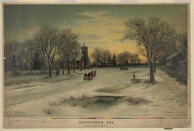 And another Christmas Eve view.  (Library of Congress)