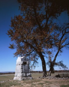 "There's even a monument at ""The Angle"" at Gettysburg National Military Park. (Carol M. Highsmith)"