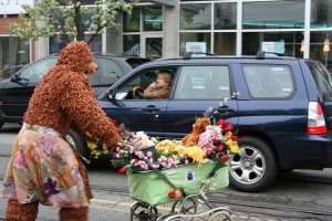 This is not what I meant by a bear crossing.  (b a r t, Flickr Creative Commons)