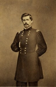The hand in the military blouse DOES give McClellan a Napoleonic look, doesn't it? (Library of Congress)