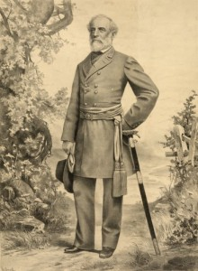 Robert E. Lee, the Confederates' top commander, was a sensitive yet daring leader.  He thrust his troops into the heart of the enemy but knew when he had been beaten.  (Library of Congress)