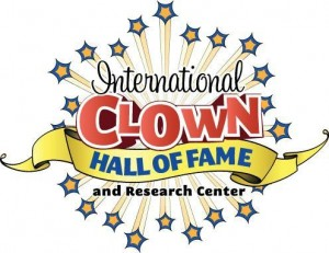 The only thing missing from its logo is the museum dimension.  (International Clown Hall of Fame, hereafter referred to in caption credits by its acronym: ICHOF)