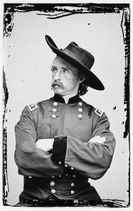 George Custer was a dashing, daring, but reckless general.  (Library of Congress)