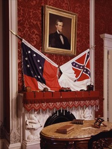 Governor McDonnell could not demand the removal of Rebel flags and other symbols from the Confederate White House — officially called the Museum of the Confederacy — in Richmond.  It's owned by a private group, the Confederate Memorial Literary Society.  (Carol M. Highsmith)