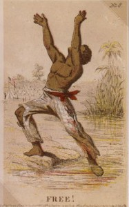 This Henry Louis Stephens lithograph says it all when it comes to the euphoria felt by freed slaves.  Often, the feeling didn't last long, as many slaves were left to fend in a region nominally controlled by occupying Federal troops but occupied by defeated and bitterly hostile southern whites.  (Library of Congress)