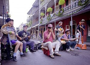 Local bands play everywhere in New Orleans -- now.  Fifty years from now?  Who knows.  (Carol M. Highsmith)