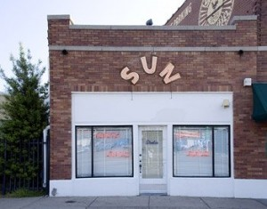 Elvis, Jerry Lee Lewis, and other early rockers recorded at Sun Records in Memphis, Tennessee.  (Carol M. Highsmith)