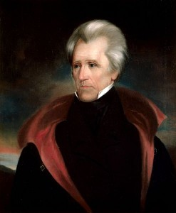 'Old Hickory' Jackson knew how to get a state's attention.