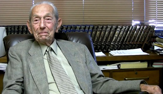 Harold Camping admits his doomsday prediction was off, but only by six months.  So he'll be back in the news in late September.  (CrazyInSane, Wikipedia Commons)