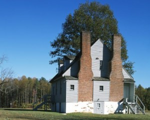 The Watt House, then as now a private residence, was the Union Army's headquarters in one portion of the first assault on Richmond.  (Carol M. Highsmith)