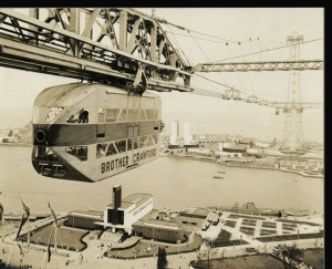 "In an era in which airplane travel was just reaching the general public, this ""Sky Ride"" above the Chicago fair must have been thrilling.  (National Building Museum; courtesy HALIC, Ryerson and Burnham Archives, The Art Institute of Chicago.  Digital File #51284 © The Art Institute of Chicago)"