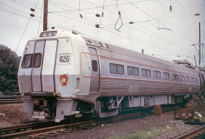 Metroliner cars began running all the way back in the 1960s on a Penn Central Line.  (Lthompson1, Wikipedia Commons)