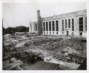 What would become VOA's headquarters building, under construction in 1941.  No, I wasn't working here then.  But I was born a year later.