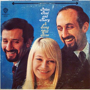 A worn Peter, Paul & Mary album cover from 1965.  (Epiclectic, Flickr Creative Commons)