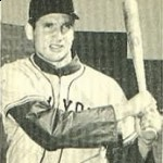 1951 playoff hero Bobby Thomson, shown three years earlier.  (Wikipedia Commons)