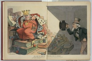 Shining a light on powerful trusts' monopolistic agreements.  (Library of Congress)