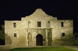 The Alamo at night.  (Carol M. Highsmith)