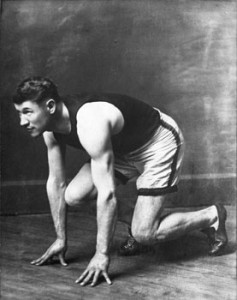 Thorpe was fast as the wind in the 1916 Summer Games.