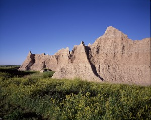 The Badlands.  We're starting to LOOK western.  (Carol M. Highsmith)