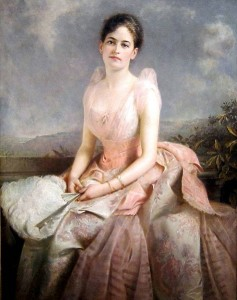 Juliette Gordon Low, painted by Edwrd Hughes in 1887.  (National Gallery of Art)