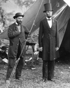 Allan Pinkerton, left, was one of the first and most famous private eyes.  He founded a detective agency and served as the Union's, and thus President Lincoln's, chief intelligence officer during the U.S. Civil War.  (Library of Congress)