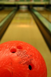 Bowling balls aren't all the old, black lumps they used to be.  (jonnykeelty, Flickr Creative Commons)