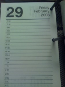 The calendar company had to print an extra page in 2008 and will again this year.  (Nieve44/La Luz, Flickr Creative Commons)