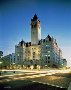 You see what I mean about the TALL clock tower on the Old Post Office.  (Carol M. Highsmith)