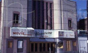 The old Hippodrome.  (Courtesy, Walker Row Partnership, Inc.)