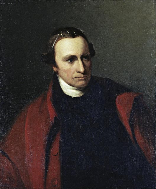 The patriot Patrick Henry, famous for a speech in which he said,