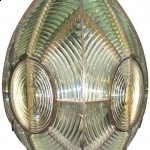 A Fresnel lens.  (Wikipedia Commons)