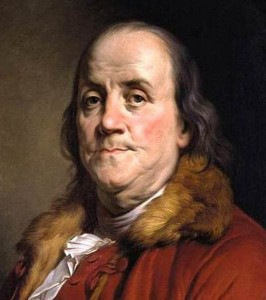 Benjamin Franklin was a witty fellow, and when it came to citizenship, a sage.  (Wikipedia Commons)