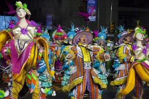 Mummers on parade.  (Carol M. Highsmith)
