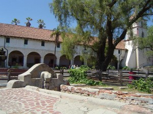 Mission Santa Barbara today.  (Carol M. Highsmith)