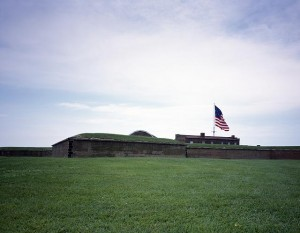 This is one War of 1812 site still standing, in Baltimore. You'll learn about it shortly. (Carol M. Highsmith)