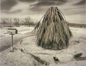 Another moody slice of Salton Sea life, photographed in the 1990s by Joan Myers.  (Courtesy, Joan Myers)