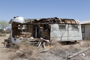 Bombay Beach today.  (Carol M. Highsmith)