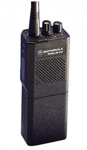 "The two-way radio: one of our first ""hand-held communication devices.""  (AV Hire London, Flickr Creative Commons)"