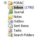 Now THIS looks like my inbox, expecially after I've been away a few days.  (Tidewater Muse, Flickr Creative Commons)