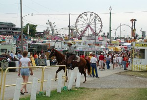 Very often, state fairs are held in state capitals.  But Sedalia got a grip on this enjoyable tradition and hasn't let go of it for more than a century.  (Sedalia Convention and Visitors Bureau)