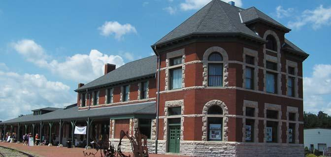 The Katy Depot is a magnet for train buffs.  (Sedalia Convention and Visitors Bureau)