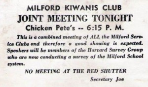 A good chicken dinner is a drawing card for this Kiwanis Club.  (Svadilfari, Flickr Creative Commons)