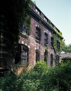 One of Ellis's decayed old buildings that sits in desperate need of salvation and renovation.  (Carol M. Highsmith)