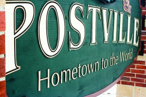 Is Postville still the Hometown to the World?  Sort of.  (Nicole Salow, Flickr Creative Commons)