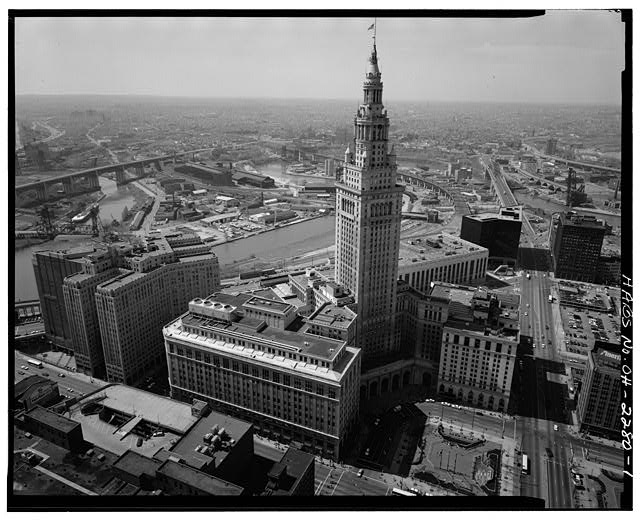 Cleveland's Terminal Tower.  (Library of Congress)